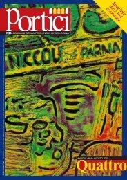 Portici - Anno IV n. 4 Agosto 2000 - Provincia di Bologna