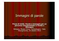 Immagini di parole - Regione Emilia-Romagna