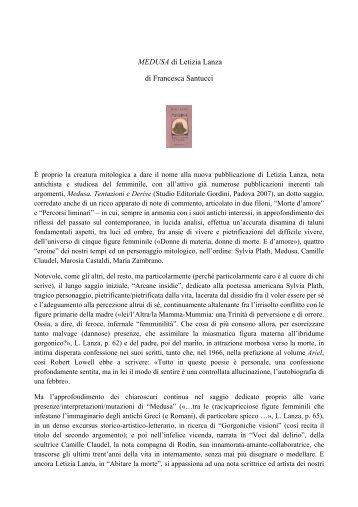 MEDUSA di Letizia Lanza di Francesca Santucci - Senecio 6617203112eb