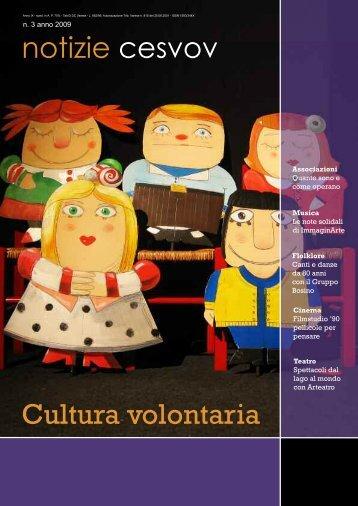 notizie cesvov Cultura volontaria