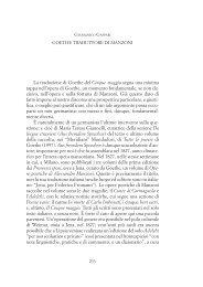 Goethe traduttore di Manzoni - Provincia di Padova
