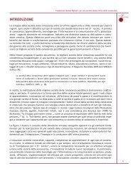 INTRODUZIONE - Fondazione Mondo Digitale