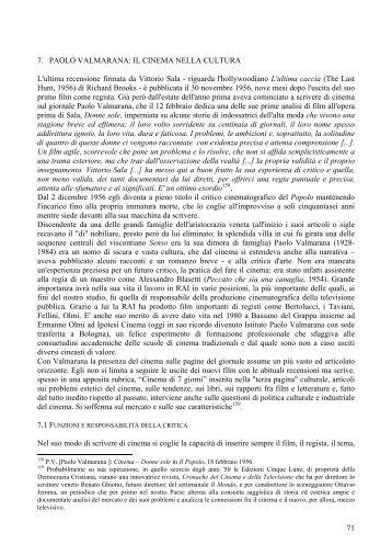 7. PAOLO VALMARANA: IL CINEMA NELLA CULTURA ... - Archivi DC
