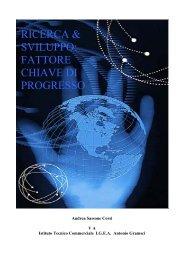 ricerca & sviluppo - Istituto Tecnico Commerciale Paritario Antonio ...