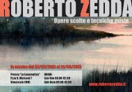 invito alla mostra - Roberto Zedda