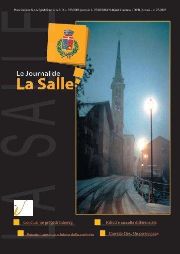 PDF LA SALLE dicembre 2007 - InfoVallee.it