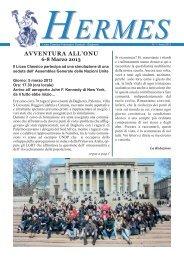 """Anno 2013 n. 1 - Liceo Classico """"Scaduto"""""""