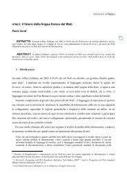 il futuro della lingua franca del Web - Icomit.it