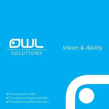 Scarica la nostra brochure [6 MB] - OWL SOLUTIONS