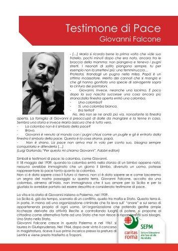 Giovanni Falcone - Caritas Roma
