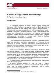 Ernesto Vidotto In ricordo di Filippo Basile, dieci anni dopo Un ... - Aif