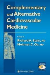 Complementary Alternative Cardiovascular Medicine