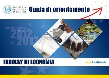 19. Economia_2012-2013 - Università di Palermo
