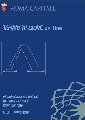 Gennaio – Febbraio 2010 – Numero 1 - Comune di Roma