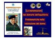La vestibologia forense - Altervista