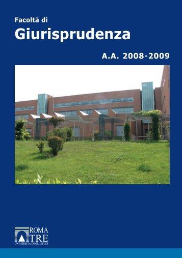 Giurisprudenza - Università degli Studi Roma Tre
