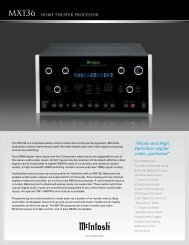 Mx136 home theater Processor