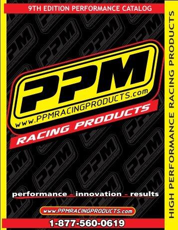 Catalog - PPM Racing
