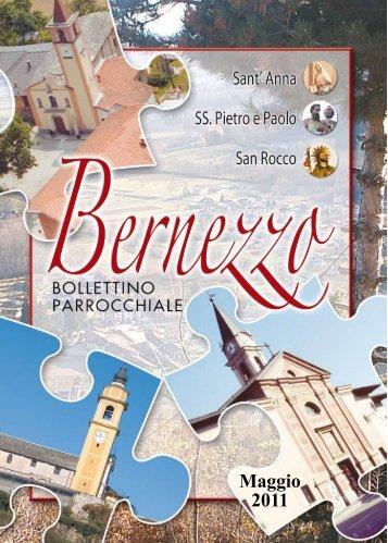 Maggio 2011 - Parrocchia Bernezzo - Diocesi di Cuneo