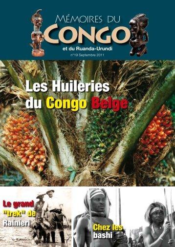 Revue n° 19 (pdf - 2.8 MB) - Mémoires du Congo