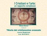 I Cristiani e l'arte: - Lettere e Filosofia