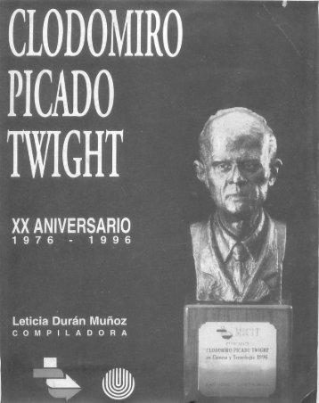 Clodomiro Picado Twight - Academia Nacional de Ciencias