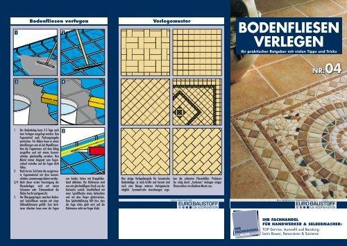 Bodenfliesen Richtig Verlegt Bauspezi Marks