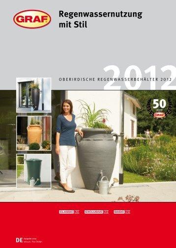 Regenwassernutzung mit Stil - Versch-bauzentrum.de