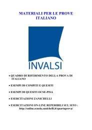MATERIALI PER LE PROVE ITALIANO - Fermi