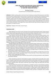 analisis struktur industri pupuk berkaitan dengan kebijakan ... - Ukrida