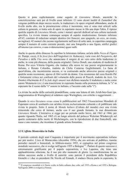 Un secolo di traduzioni letterarie in esperanto - Federazione ...