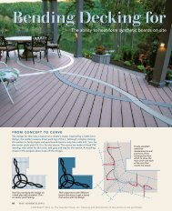 Bending Decking For Decorative Inlays - Deck Builders Inc Olympia ...