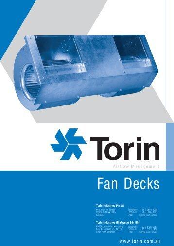 Fan Decks - Torin Industries Pty Ltd