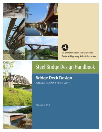 Bridge Deck Design - Federal Highway Administration - Department ...