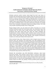 Analisis Efektivitas Kebijakan Subsidi Pupuk dan Benih - Badan ...