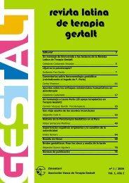 generado - Revista Latina de Terapia Gestalt - Zimentarri