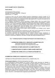 CUTE E DIABETE IN ETA' PEDIATRICA Patrizio Mulas Unità ...
