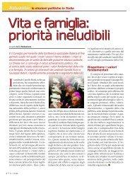 le elezioni politiche in Italia - Rinnovamento nello Spirito Santo