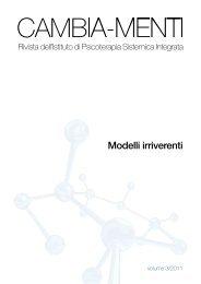 Vol 3 Modelli irriverenti - Scuola di Psicoterapia Sistemica Integrata