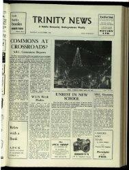 Music - Trinity News Archive