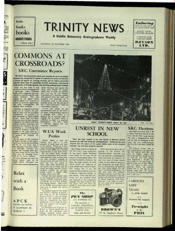 Music - Trinity News Archive