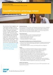 SAP Business One - Columbus Systems