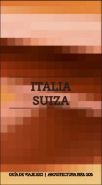 Guía 6: Italia y Suiza - Facultad de Arquitectura