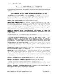 Dizionario Abiti Ecclesiali http://digilander.libero.it/ssmagi//index ...