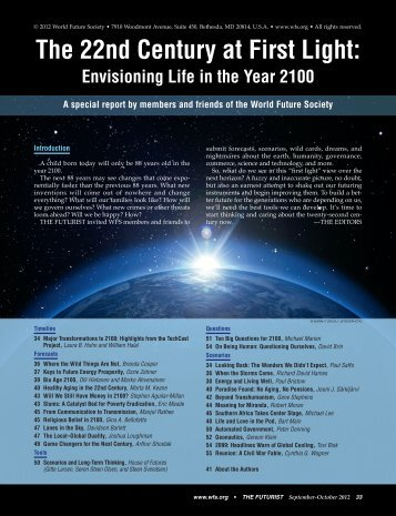 The 22nd Century at First Light - the denning institute