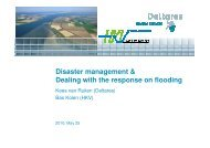 Disaster management & Dealing with the response on ... - CHR-KHR