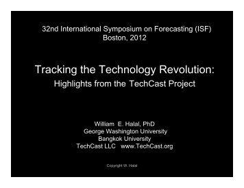 Technology Forecasts for Strategic Planning - International Institute ...