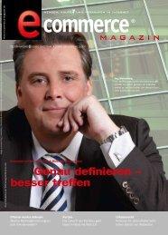 PDF-Interview eCMagazin - Vertriebsmanager
