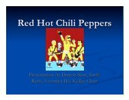 final - group 3 - red hot chili peppers.pptx