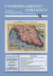 Bollettino n. 1 - 2011.pdf - Coordinamento Adriatico